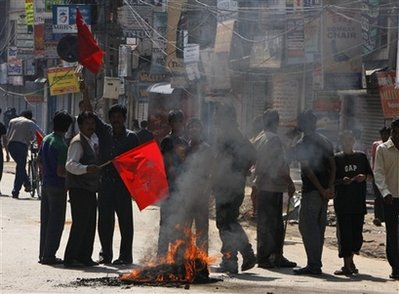 Nepal Strike